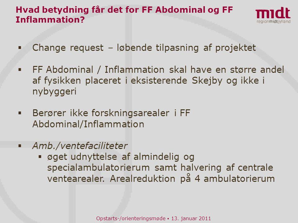 Hvad betydning får det for FF Abdominal og FF Inflammation