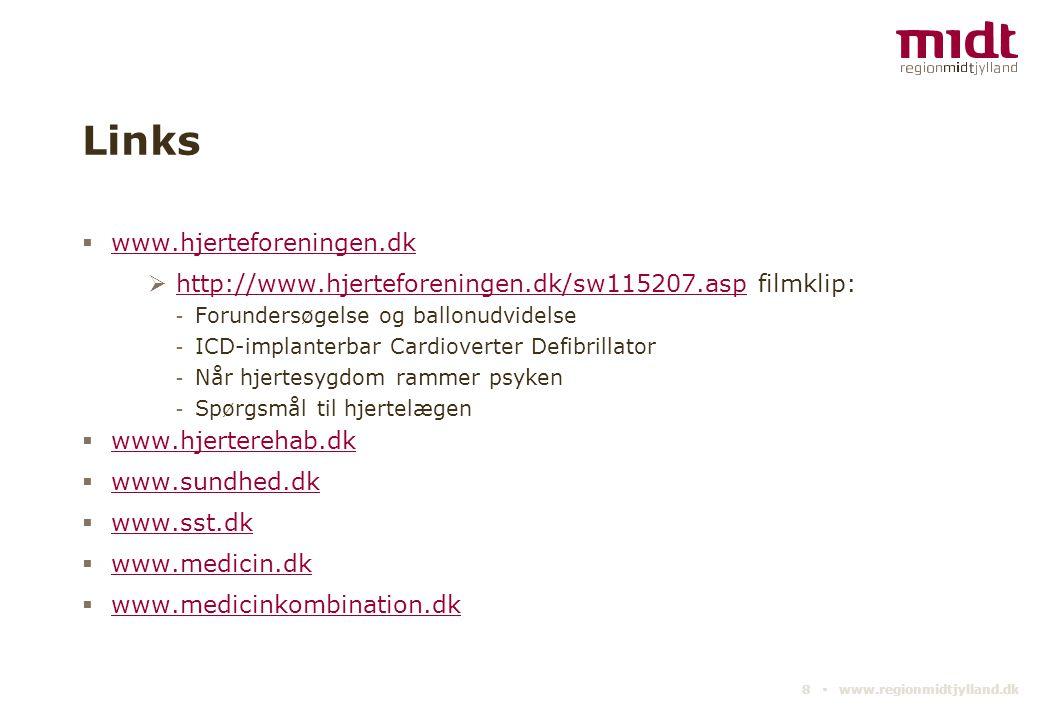 Links www.hjerteforeningen.dk