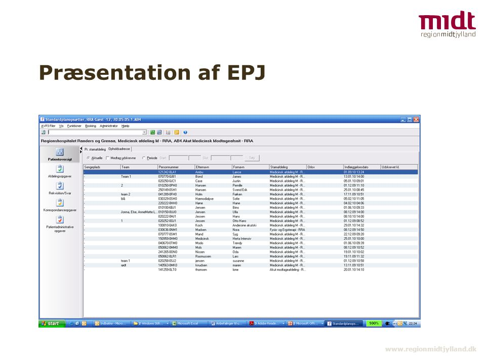 Præsentation af EPJ www.regionmidtjylland.dk