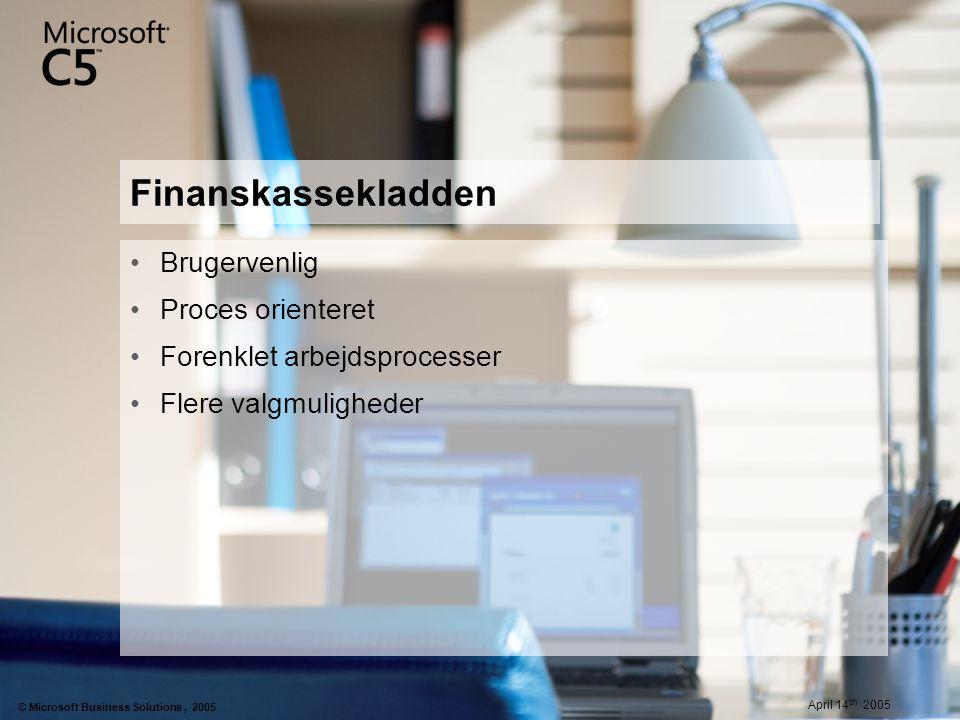 Finanskassekladden Brugervenlig Proces orienteret