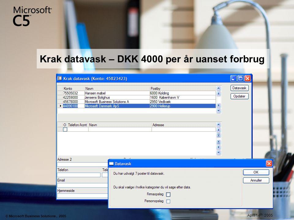 Krak datavask – DKK 4000 per år uanset forbrug
