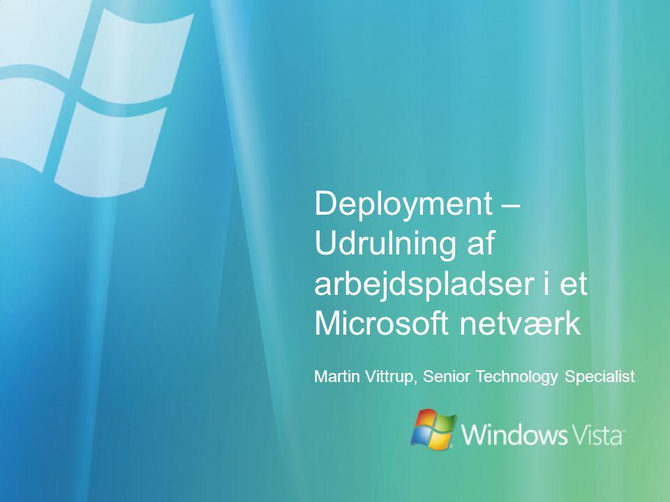 Deployment – Udrulning af arbejdspladser i et Microsoft netværk