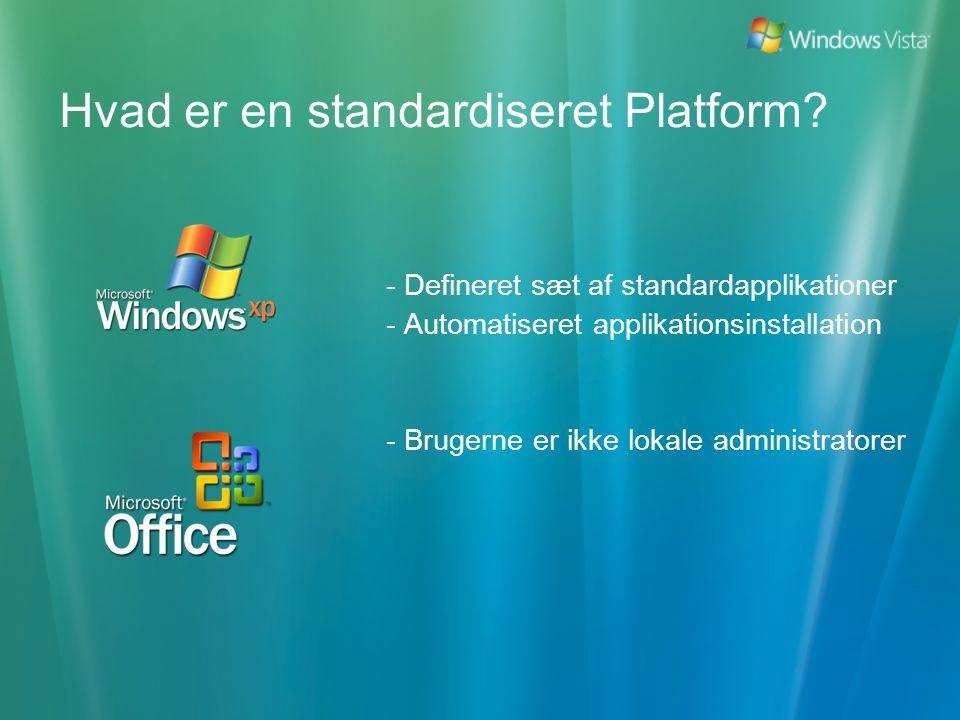 Hvad er en standardiseret Platform