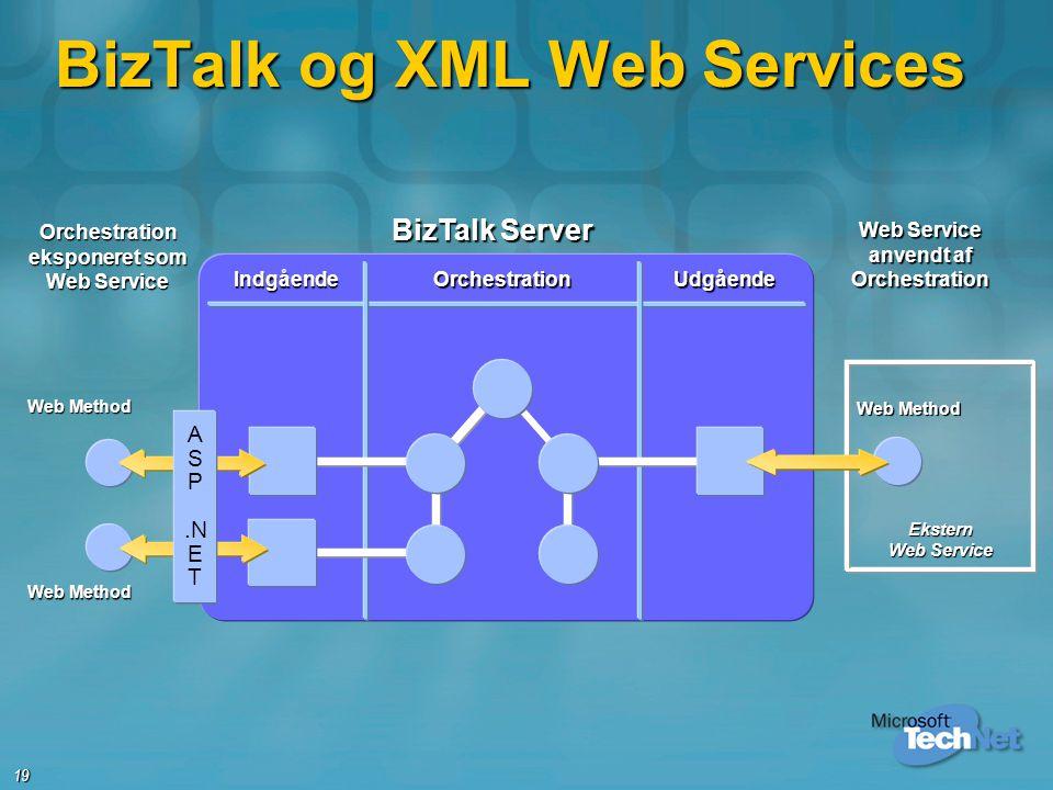 BizTalk og XML Web Services