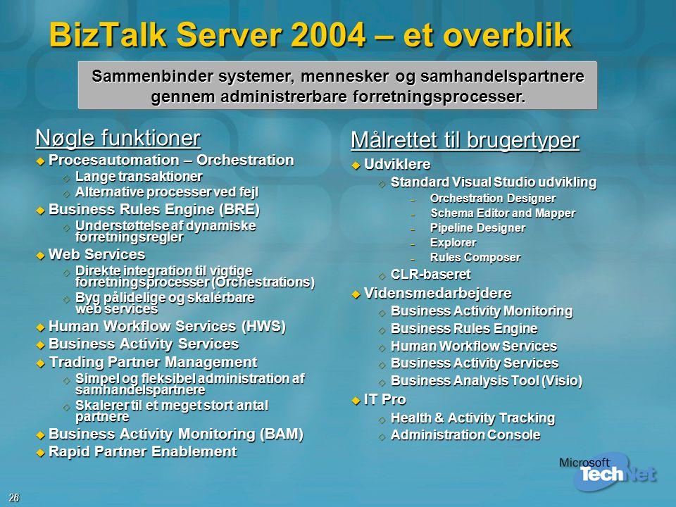 BizTalk Server 2004 – et overblik