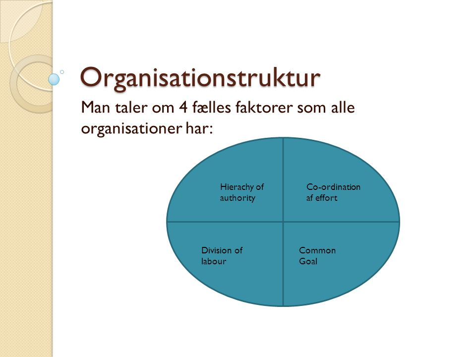 Organisationstruktur