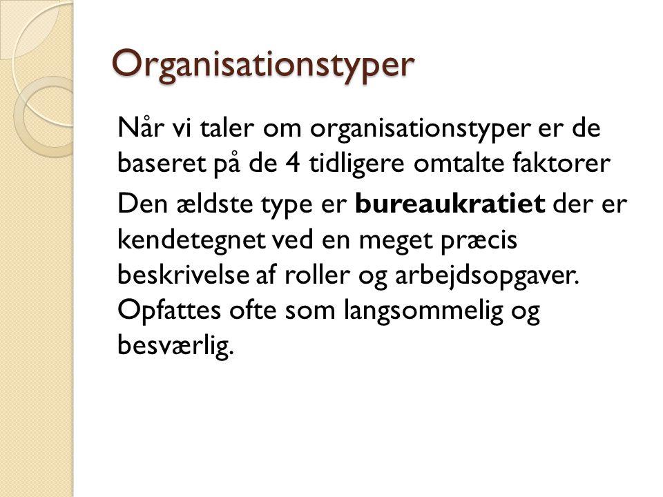 Organisationstyper