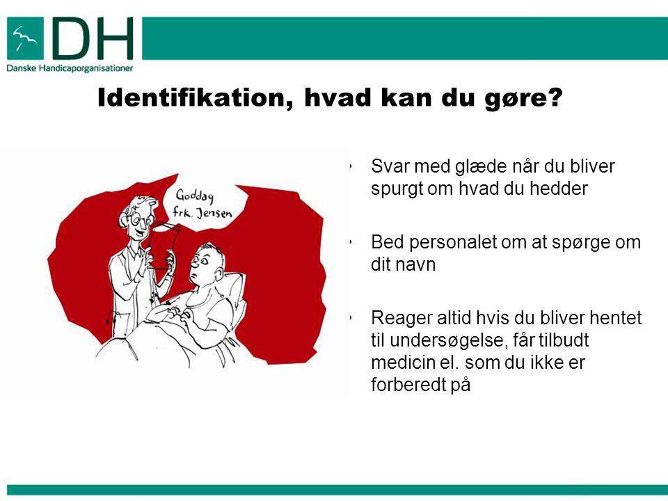 Identifikation, hvad kan du gøre