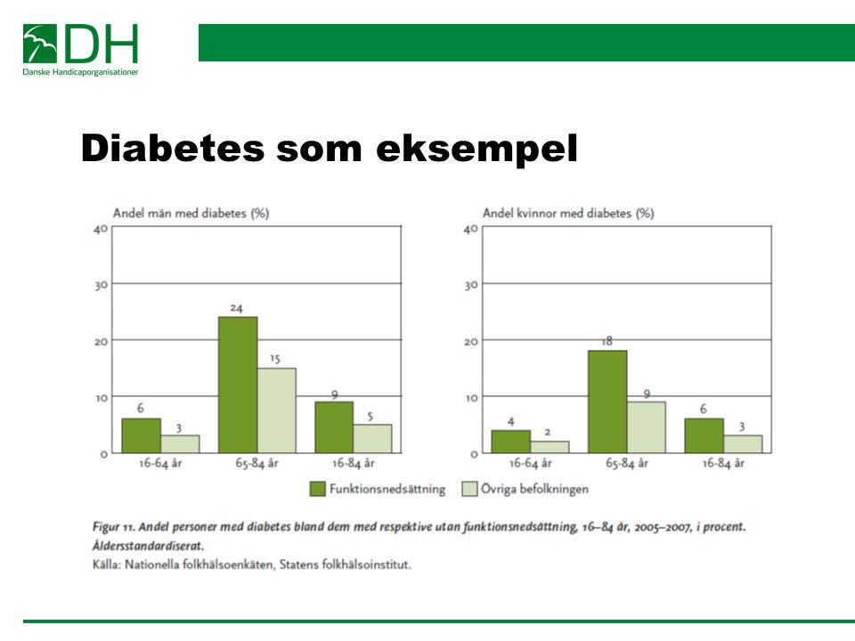 Diabetes som eksempel