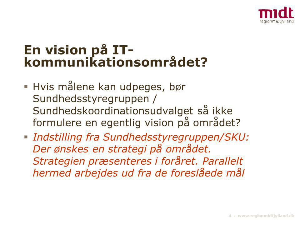 En vision på IT-kommunikationsområdet