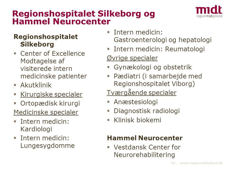 Regionshospitalet Silkeborg og Hammel Neurocenter