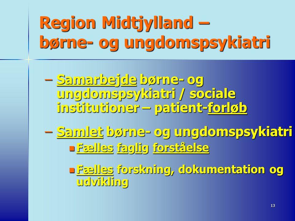 Region Midtjylland – børne- og ungdomspsykiatri