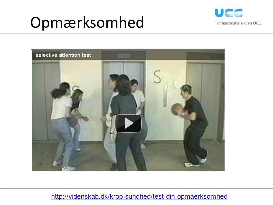 Opmærksomhed http://videnskab.dk/krop-sundhed/test-din-opmaerksomhed