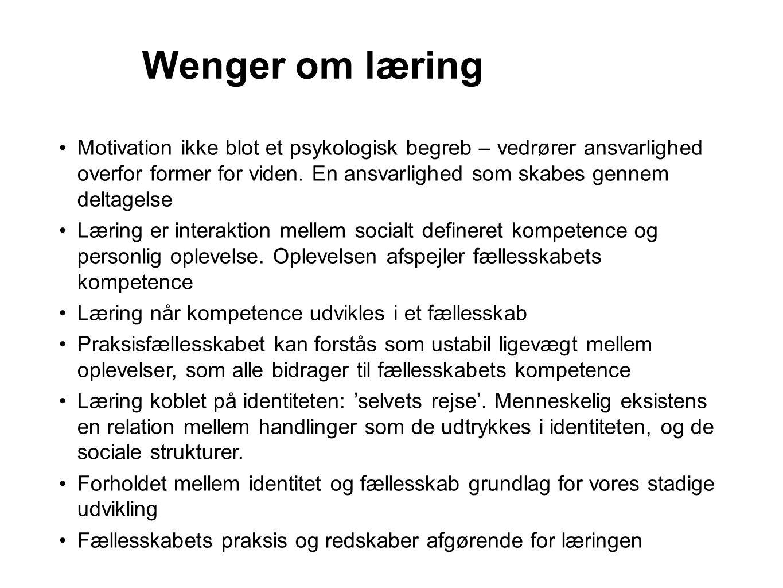 Wenger om læring