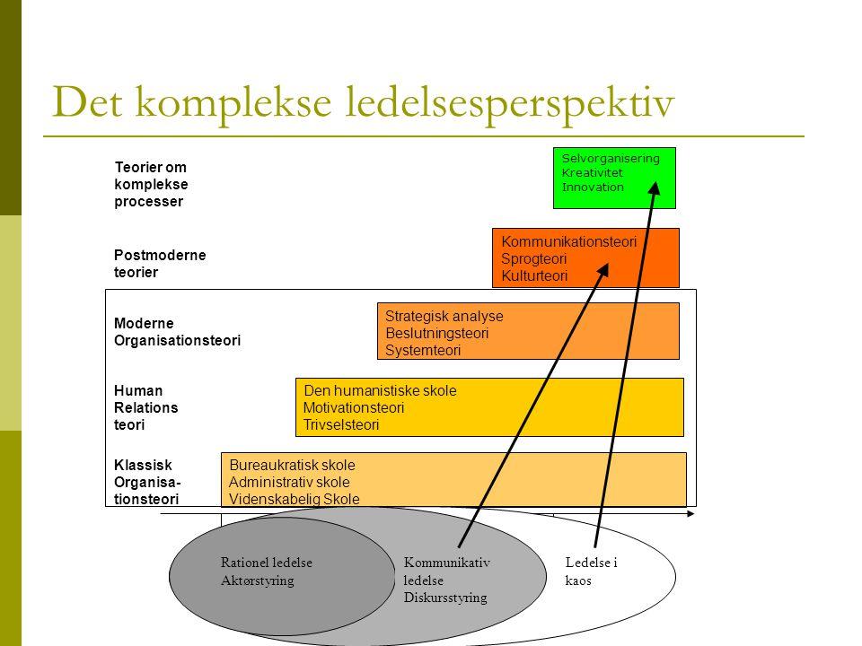 Det komplekse ledelsesperspektiv
