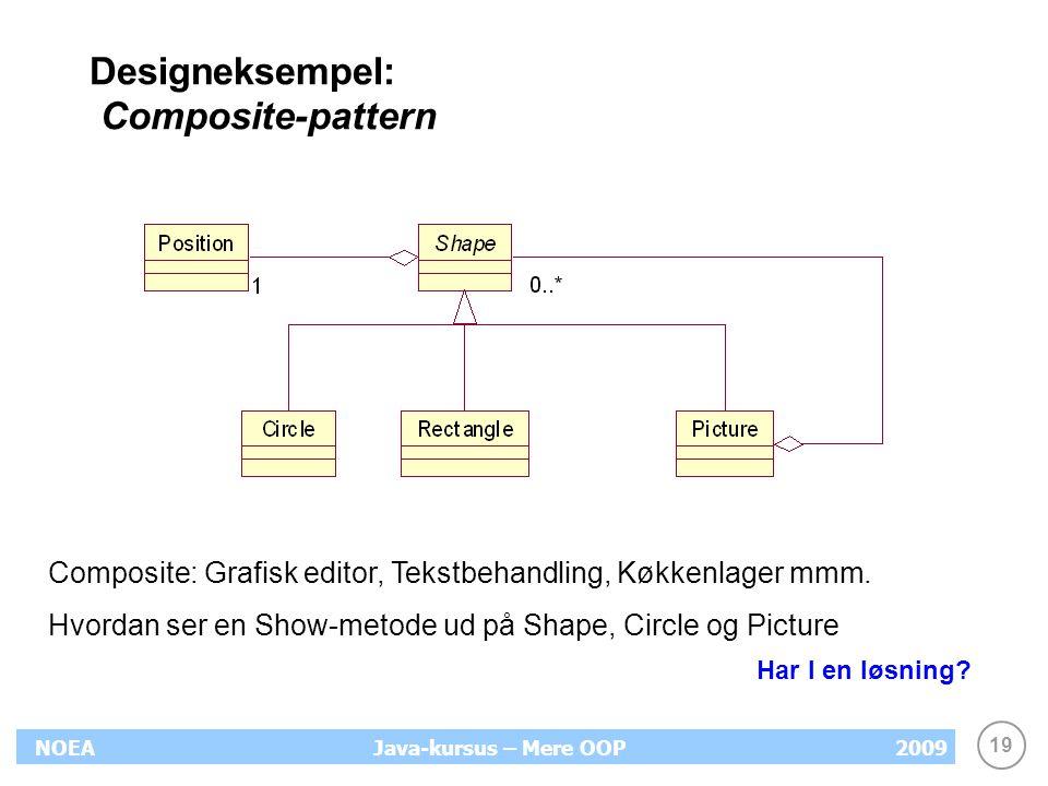Designeksempel: Composite-pattern
