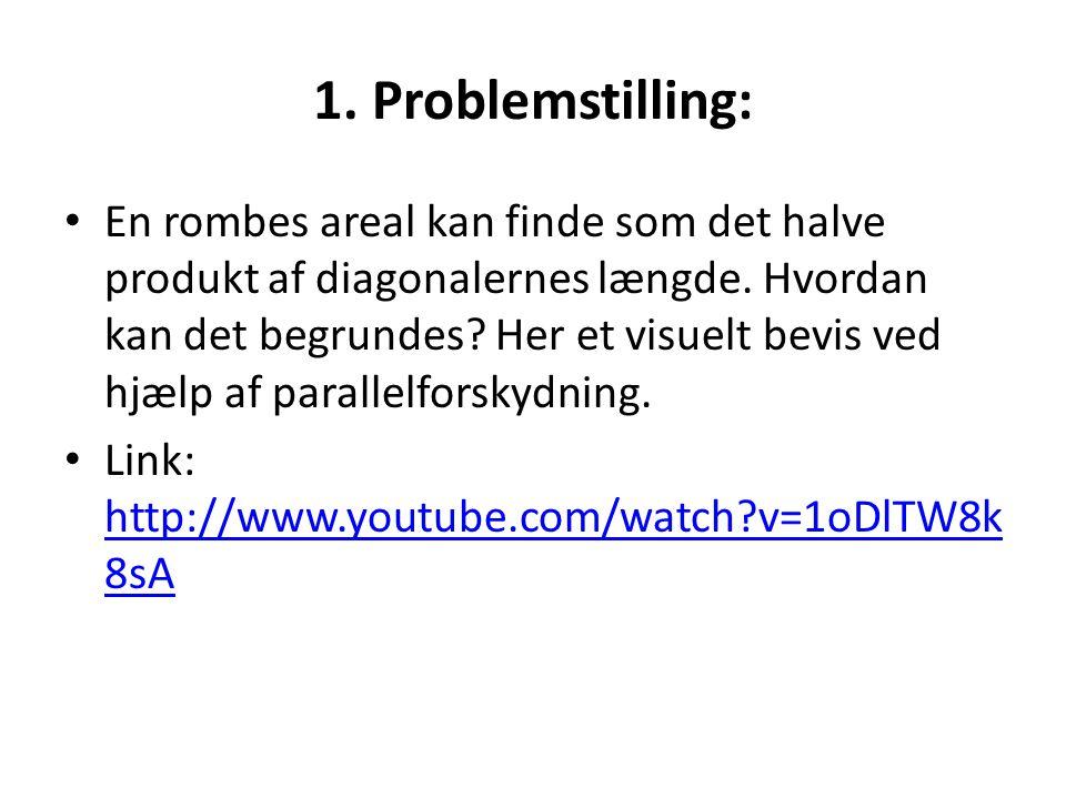 1. Problemstilling:
