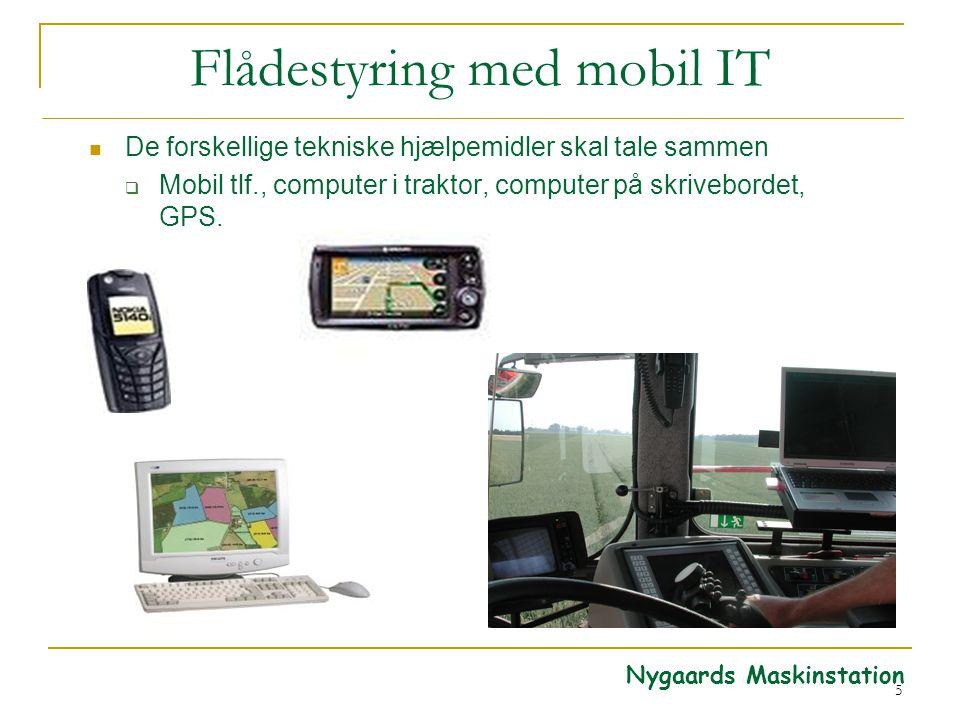 Flådestyring med mobil IT