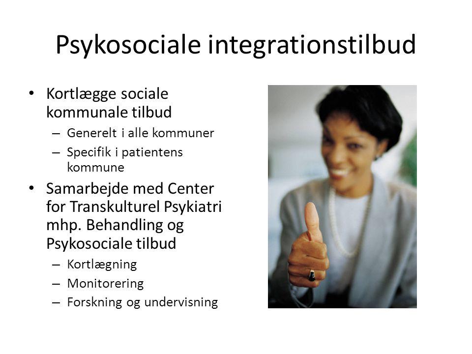Psykosociale integrationstilbud