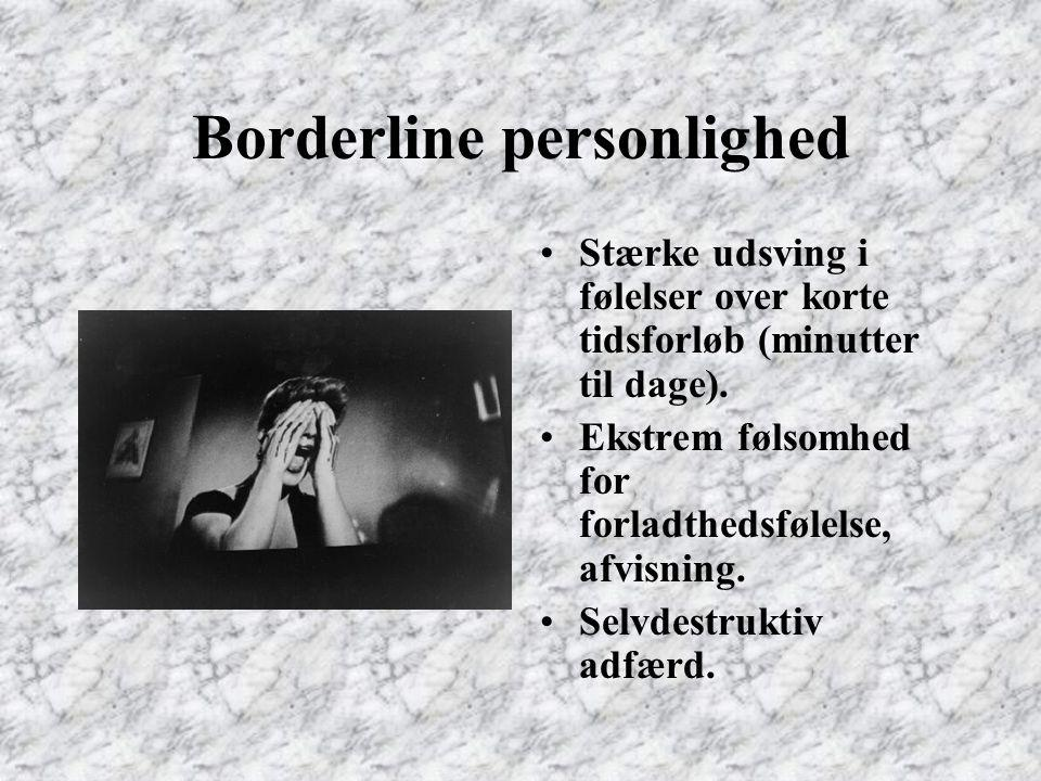 Borderline personlighed