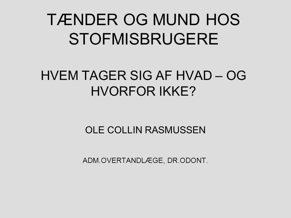 ADM.OVERTANDLÆGE, DR.ODONT.