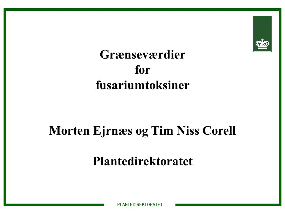 Morten Ejrnæs og Tim Niss Corell