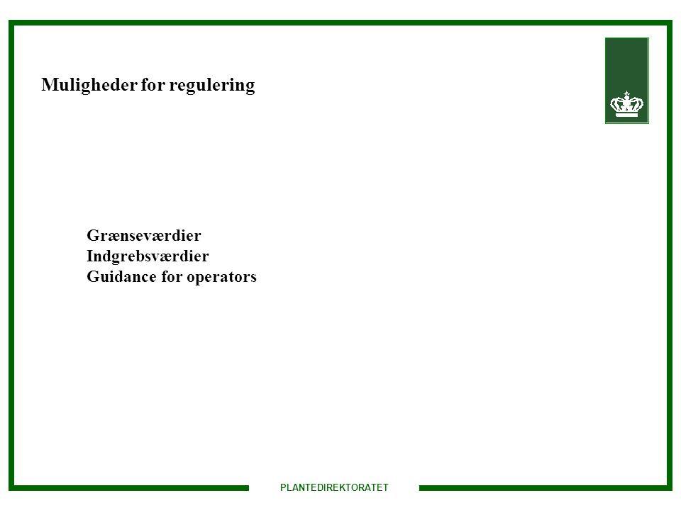Muligheder for regulering