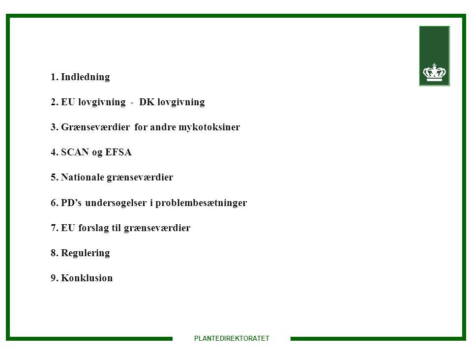 2. EU lovgivning - DK lovgivning