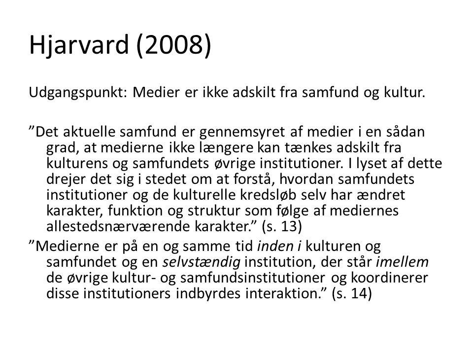 Hjarvard (2008)