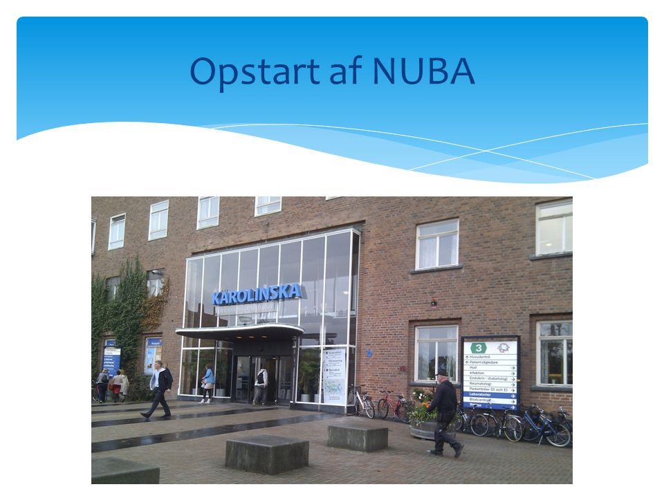 Opstart af NUBA