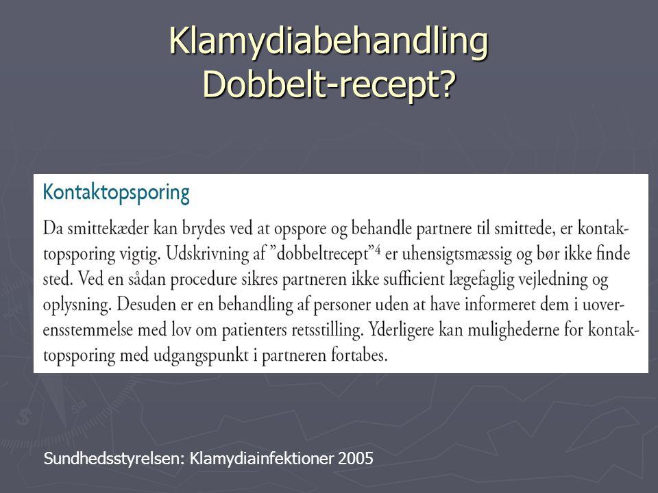 Klamydiabehandling Dobbelt-recept