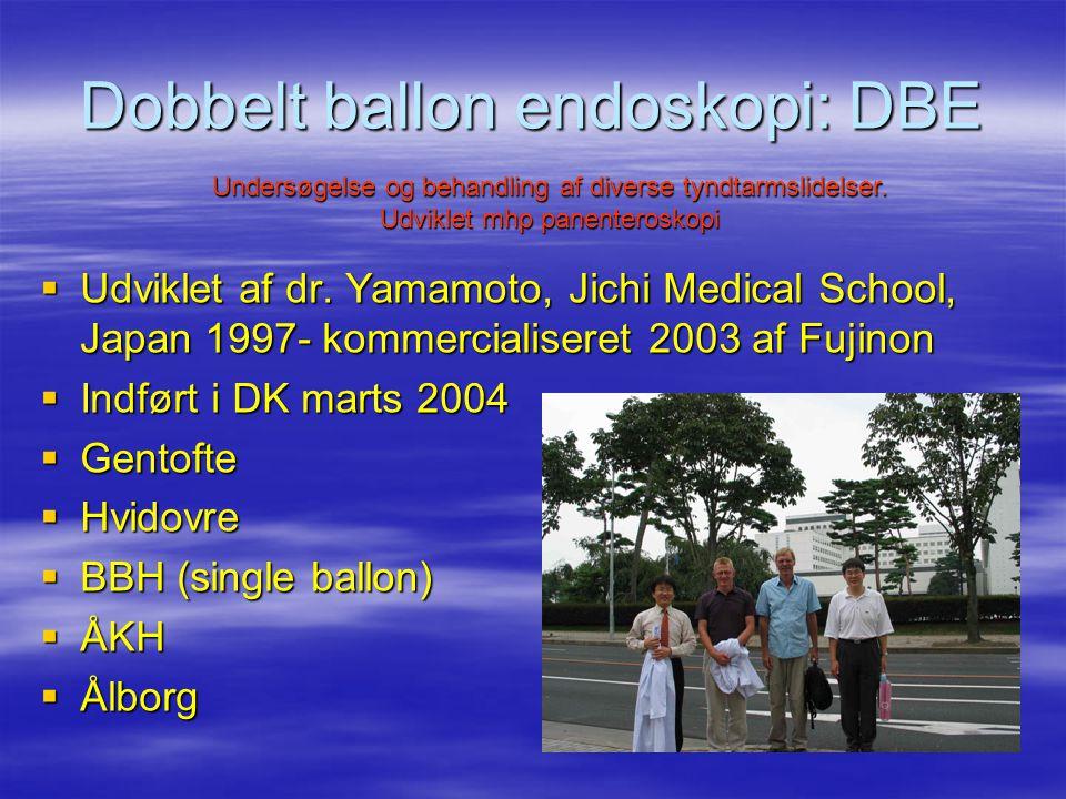 Dobbelt ballon endoskopi: DBE