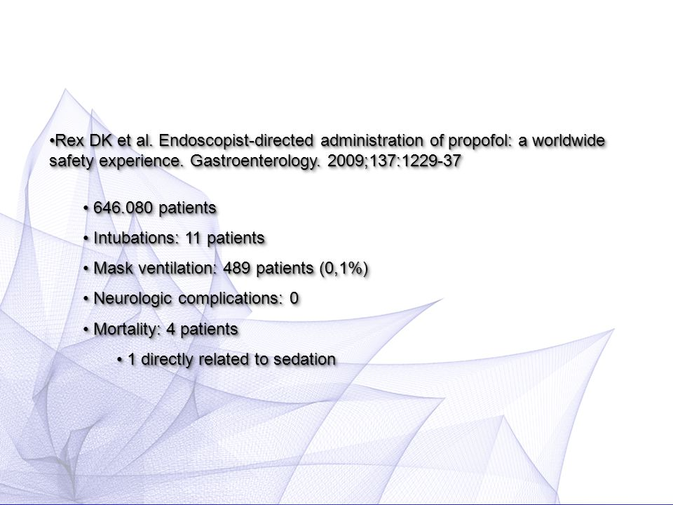 Is non-anesthesiologist administered propofol sedation safe