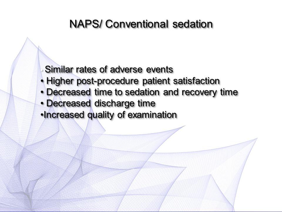 NAPS/ Conventional sedation