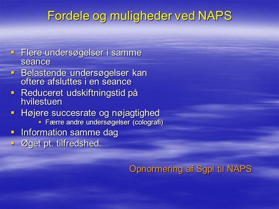 Fordele og muligheder ved NAPS