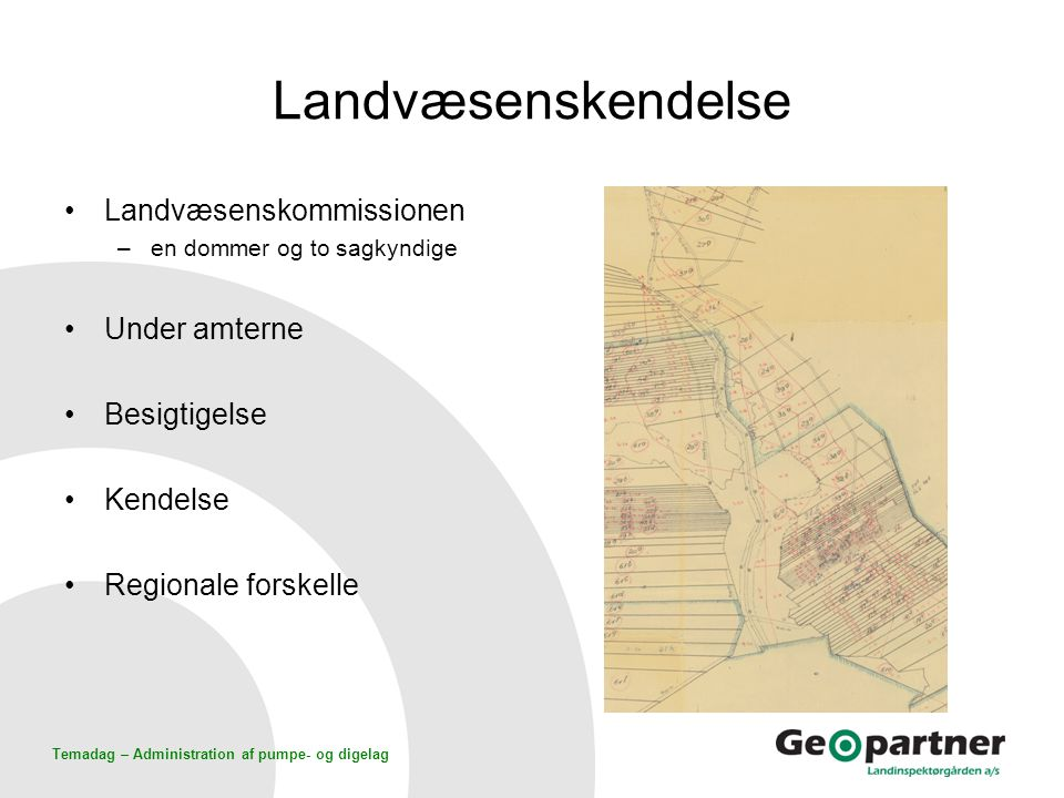Landvæsenskendelse Landvæsenskommissionen Under amterne Besigtigelse
