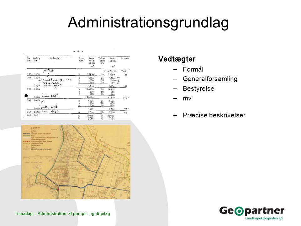 Administrationsgrundlag