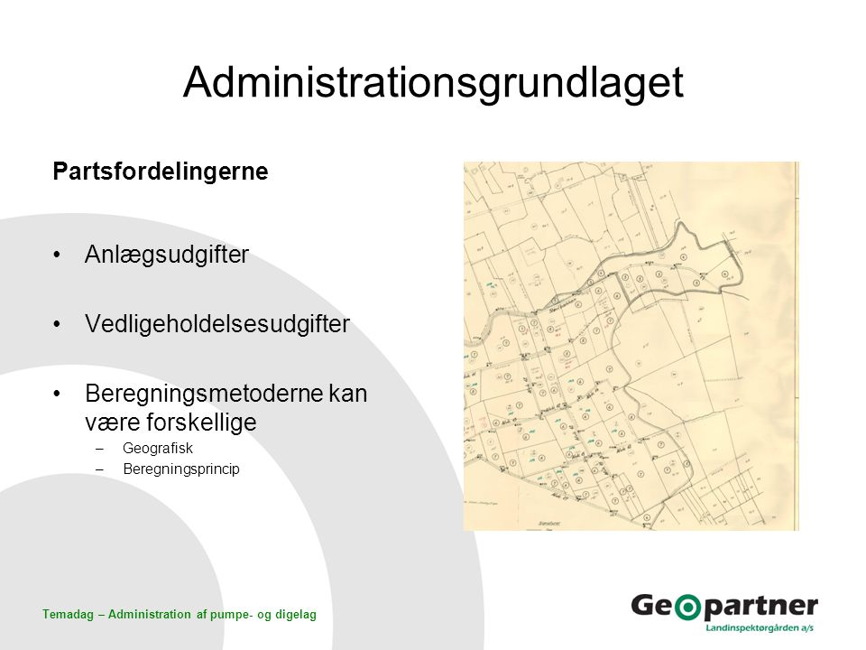 Administrationsgrundlaget