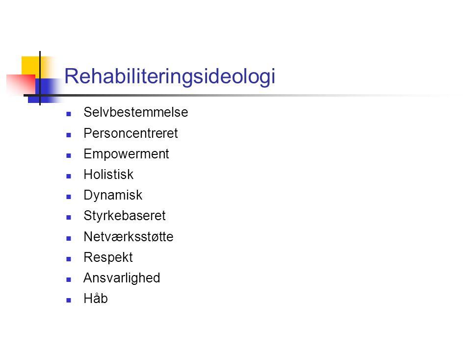 Rehabiliteringsideologi