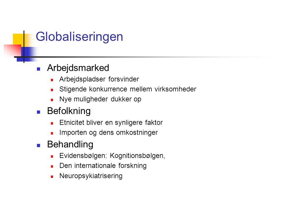 Globaliseringen Arbejdsmarked Befolkning Behandling