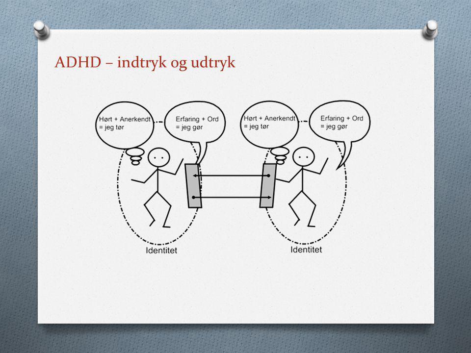 ADHD – indtryk og udtryk