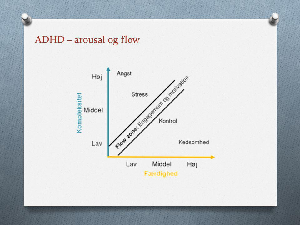 ADHD – arousal og flow