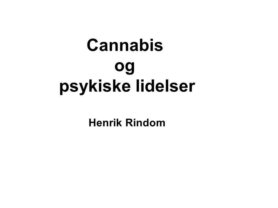 Cannabis og psykiske lidelser