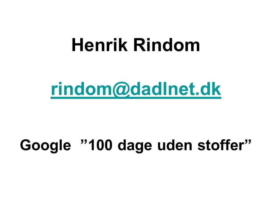 Google 100 dage uden stoffer