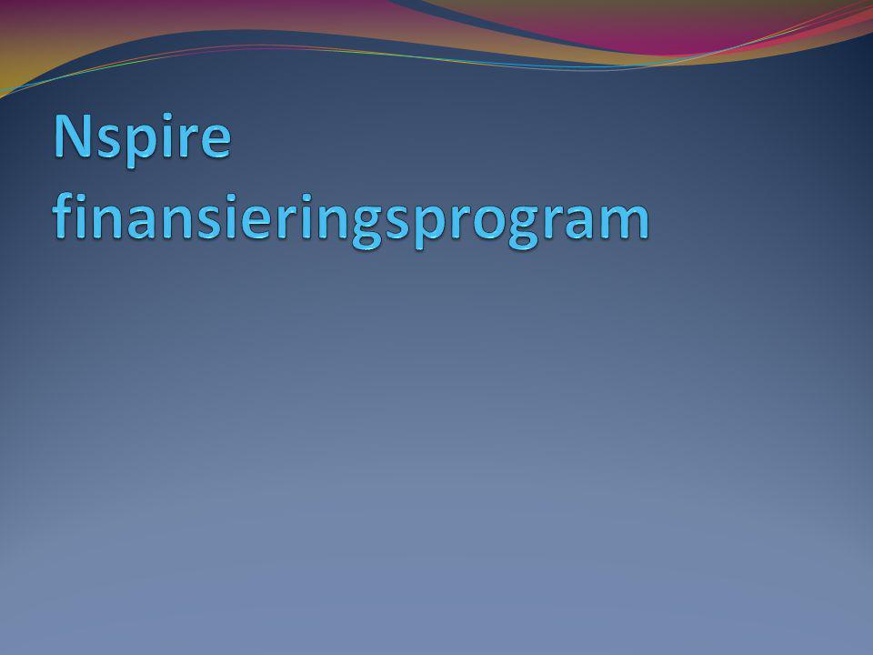 Nspire finansieringsprogram