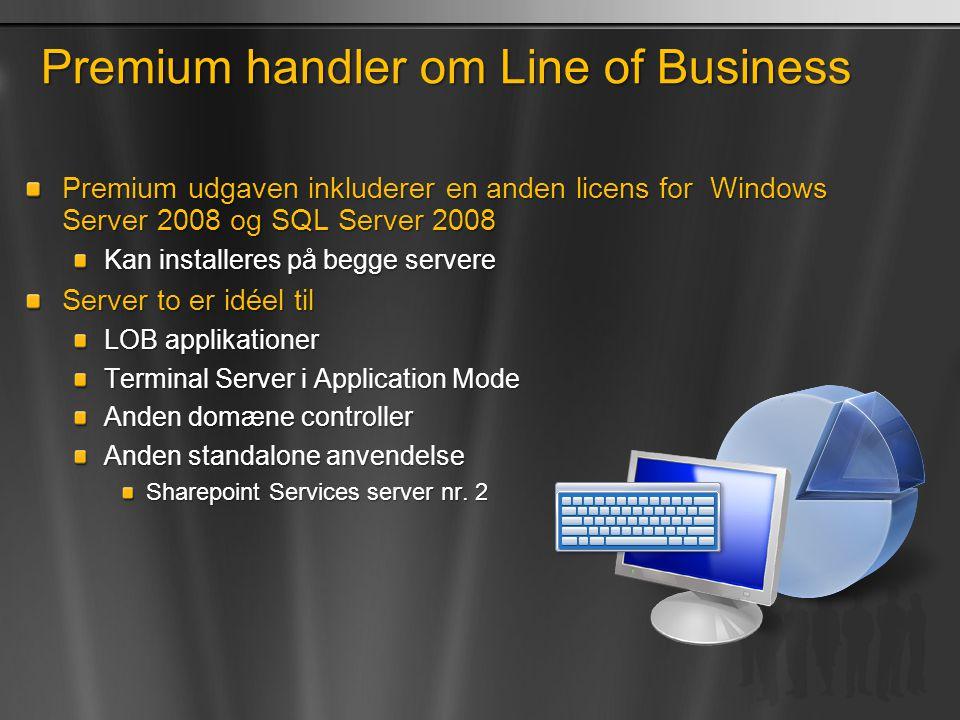 Premium handler om Line of Business