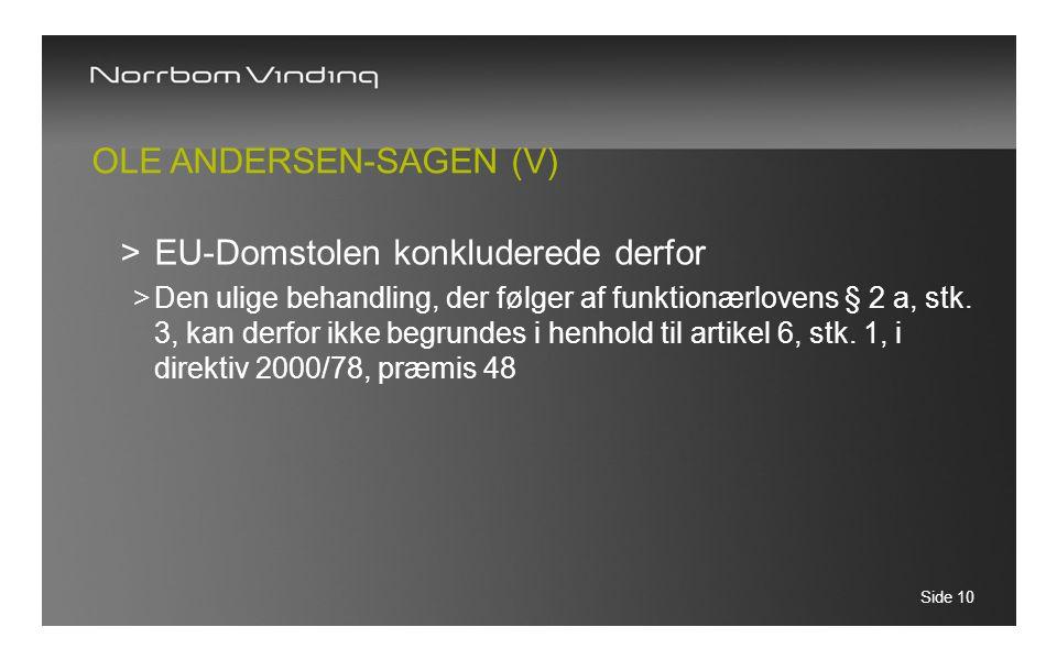 Ole Andersen-sagen (V)