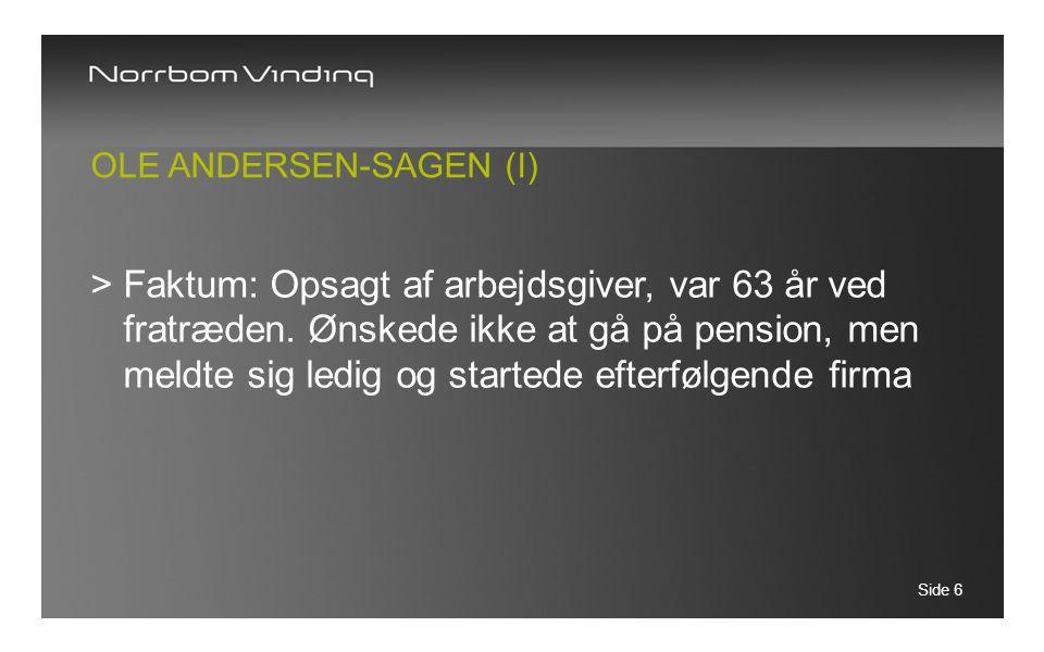 Ole Andersen-Sagen (I)