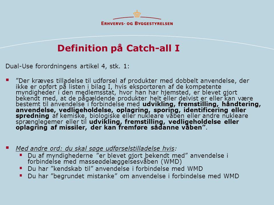 Definition på Catch-all I