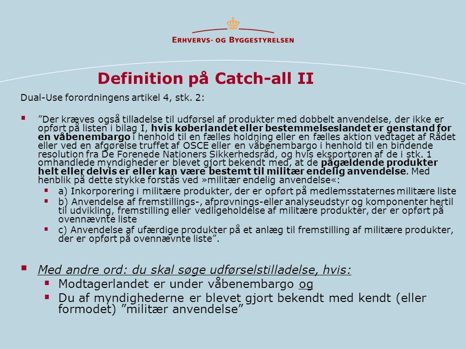 Definition på Catch-all II